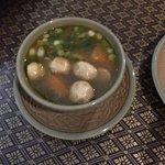 Tom Yum soup with shrimp