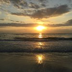 Sonnenuntergang auf Chale Island