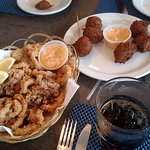 Calamari and Conch Fritters