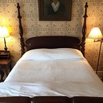 Classic 19th century bed and furnishings