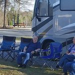 Enjoying the beauty of Scenic Mountain RV Park, Milledgeville, Ga