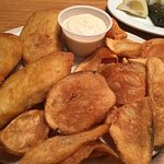 It's not just pizza.  From traditional Greek to Italian to fish & chips lots of choices means so