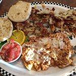 Black Bear Diner Chorizo Scramble