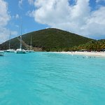 Jost Van Dyke - Joe got us there before any other boats that day!