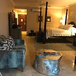 Pictures of our room on the Caribbean Sunset Bluff poolside walkout