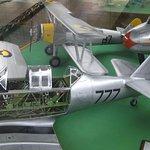 Modelos de aviones de la Edad Dorada de la Aviación en escala 1/8