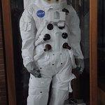Traje de vuelo espacial de la NASA.