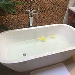 A superb bath tub