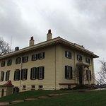 Exterior of Taft home