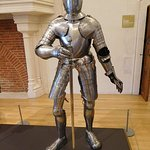 One of several suits of armour