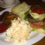Mushroom and Havarti Burger!