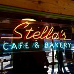 Stella's! Eat here! Great food!
