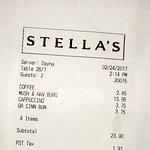 It was a great lunch at Stella's Cafe on Osborne.