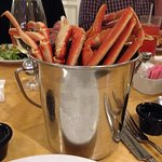 Crab Legs at Cape May Seafood Buffet, Beach Club Resort
