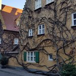 Fuggerei buildings with a bit of character