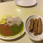 soft and tasty chicken kabaab