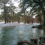 River on River Bluff Cabins Property