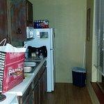 Kitchen, River Bluff Cabins