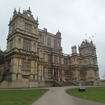 The front facade of Wollaton Hall
