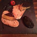 café de Bouzigues Aigues Mortes le foie gras poêlé