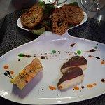Entrée (foie gras préparé)