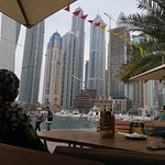 Dubai Marina view!