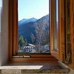 Ausblick Badezimmerfenster