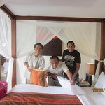 Friendly housekeeping staff Agung & Tito