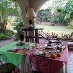 My 3rd day breakfast at Casa Joaquin