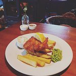 Classic old favourite, locally landed fish and chips