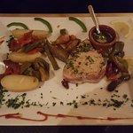 Plat principal (pavé steak de thon)