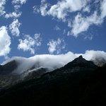 Entrando las nubes al valle