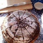 torta vegana home made