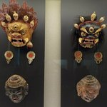 Some of the many masks on level 4