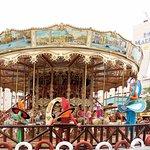 Parque infantil Mundo Fantasía - carrusel