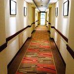 Immaculate hallways