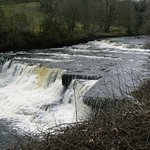 close to the wheatsheaf, Aysgarth falls