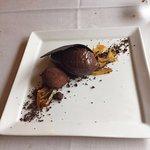 chocolate con naranja