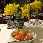 particolare della mimosa e della giardiniera - sempre squisita