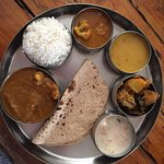 Thali for lunch!