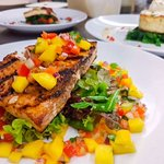 Chargrilled Cajun Spiced Swordfish Steak