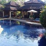 Swimming pool is beautiful