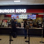 counter for Burger King in the InterIsland terminal of HNL