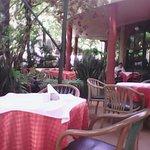 Terrace at Pizzeria The Italian Cuisine