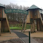 Lovely park for little ones and big ones x