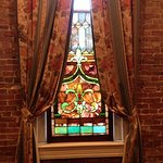 Lots of pretty stained glass!