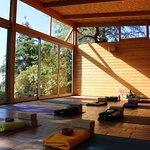 Yoga-Haus mit Meerblick