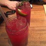 Two Mocktails... DELCIOUS!