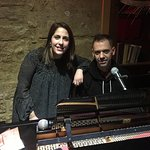 What a fantastic night out. The girl is an amazing singer and the guy amazing piano skills. They