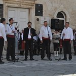 Klapa (acapella) Singers in the Central Square - May 2016